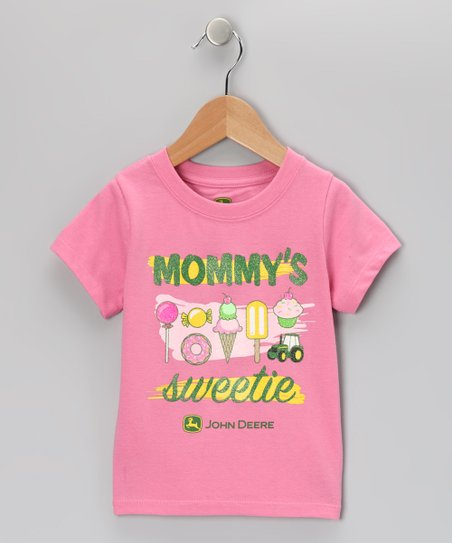 Pink 'Mommy's Sweetie' Tee - Toddler