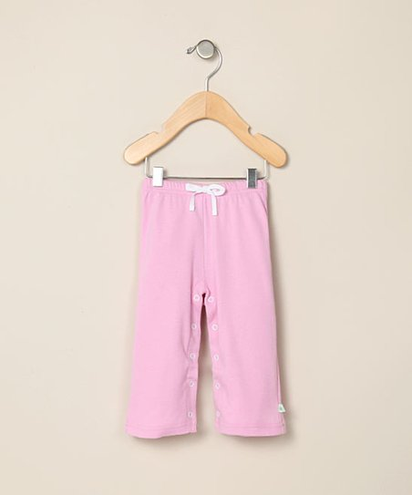 Cotton Candy Pink Organic Pants