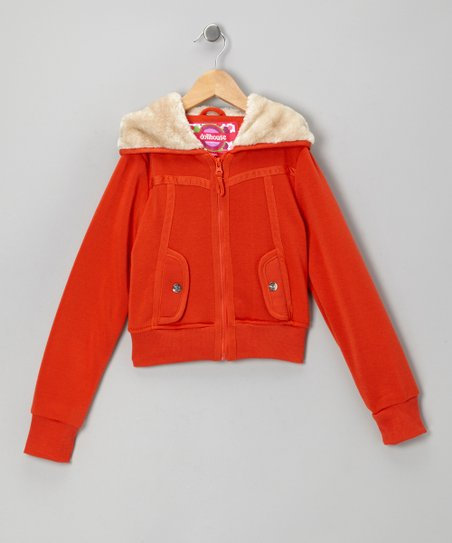 Mandarin Zip-Up Hoodie - Toddler & Girls