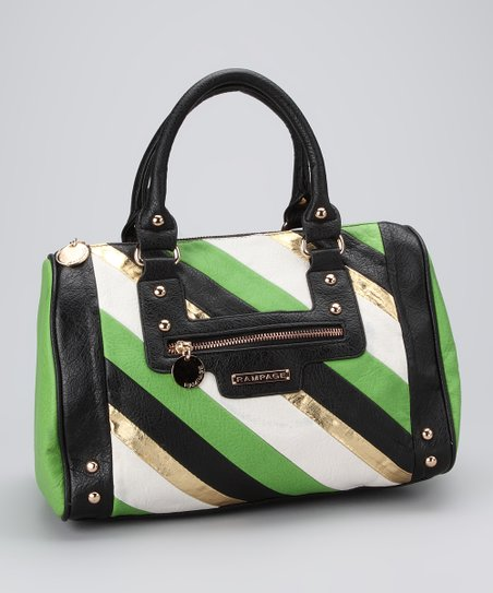 Green Caroline Satchel