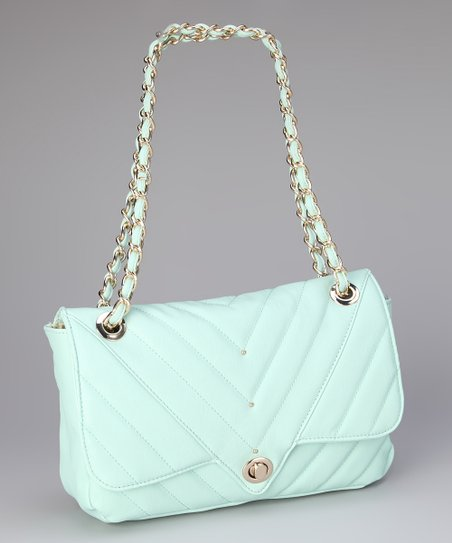 Mint Leah Shoulder Bag