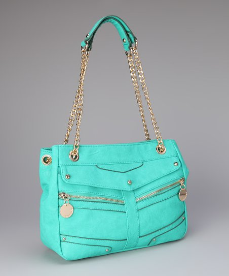 Teal Allison Shoulder Bag