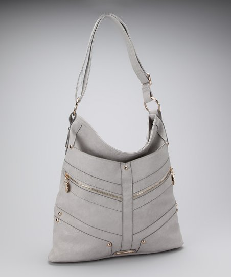 Gray Carrie Hobo