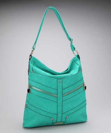 Teal Carrie Hobo