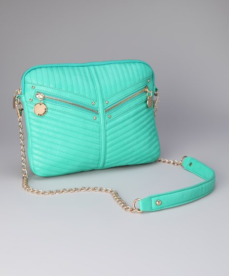 Teal Jasmine Crossbody Bag