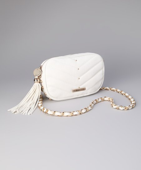 White Jaclyn Crossbody Bag