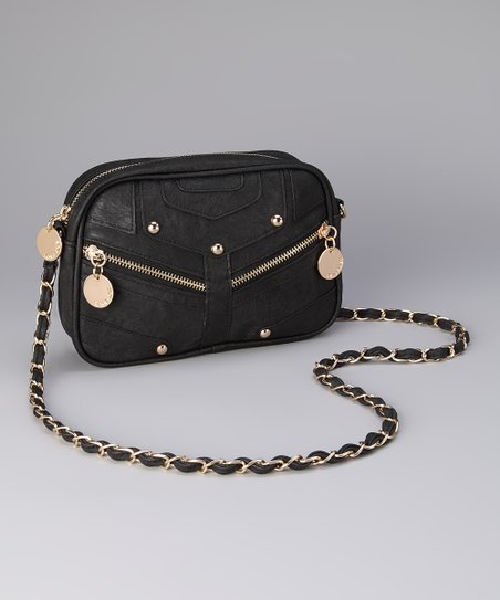 Black Julie Crossbody Bag