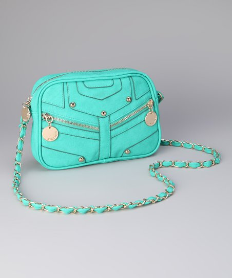 Teal Julie Crossbody Bag
