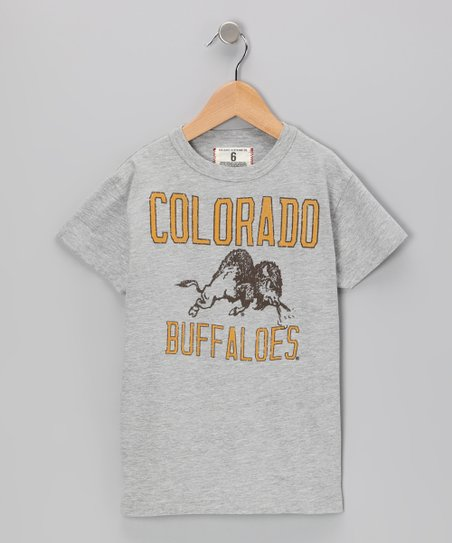 Heather Gray 'Colorado' Mascot Tee - Boys