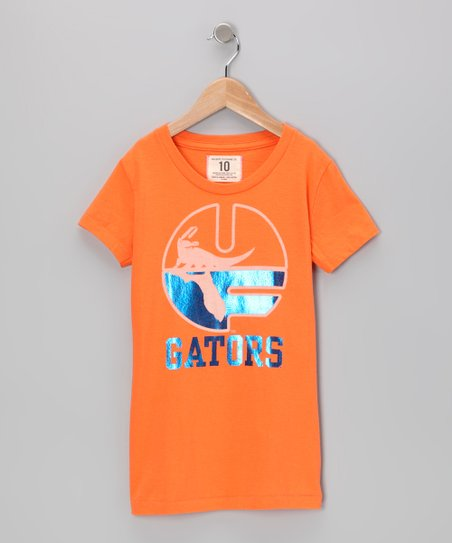 Energy Orange &#039;Florida&#039; Tee - Girls