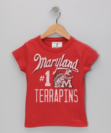 Faded Red '#1 Maryland' Tee - Toddler & Boys