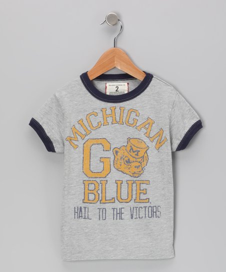 Heather Gray &#039;Michigan Hail To The Victors&#039; Tee - Toddler &amp; Boys