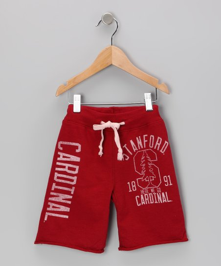 Cardinal 'Stanford' Mascot Shorts - Toddler & Boys