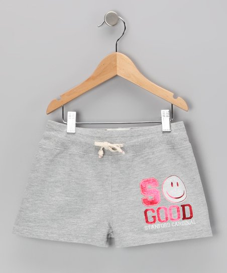 Heather Gray 'Stanford' Shorts - Toddler & Girls