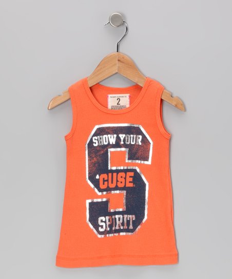 Burnt Orange &#039;Syracuse&#039; Tank - Toddler &amp; Girls
