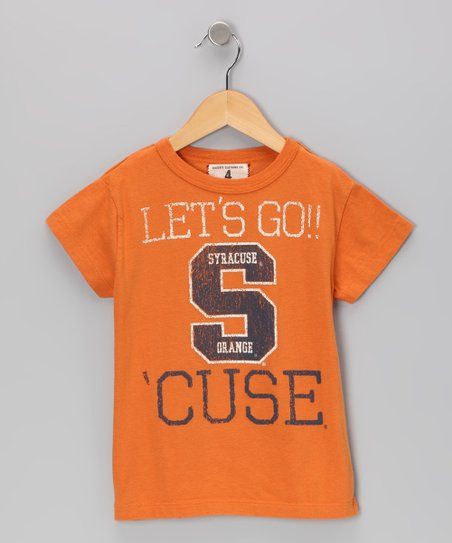 Burnt Orange &#039;Syracuse&#039; Tee - Toddler &amp; Boys