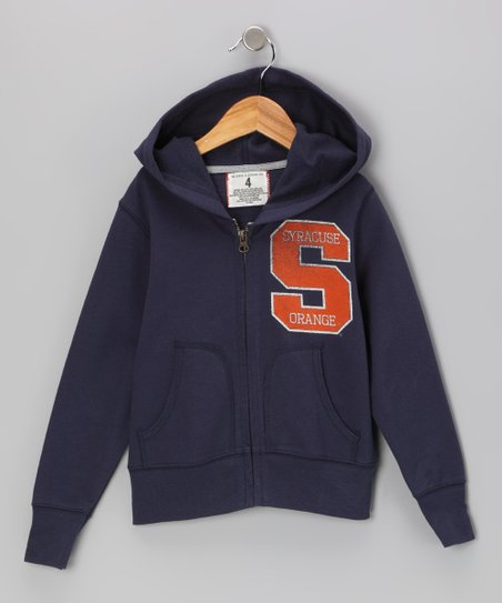Mast Blue 'Syracuse' Zip-Up Hoodie - Toddler & Kids
