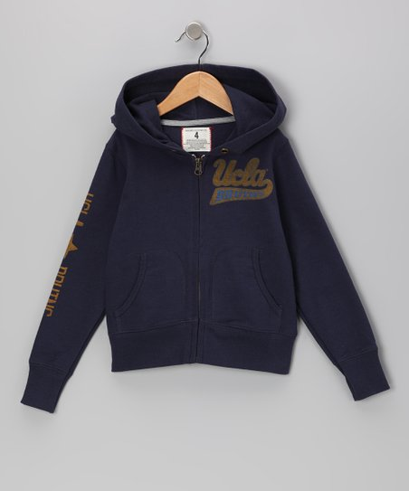 Mast Blue 'UCLA Bruins' Zip-Up Hoodie - Boys