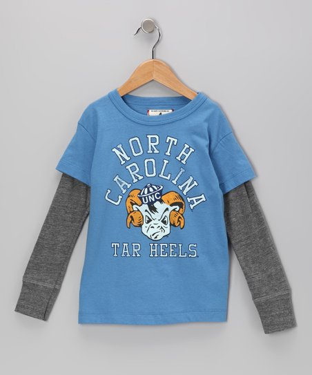 Ocean 'North Carolina Tar Heels' Layered Tee - Toddler & Boys