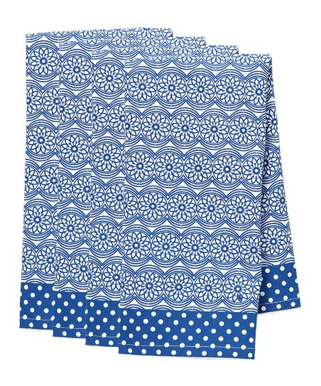 Ellie Kitchen Towel - Set of Four