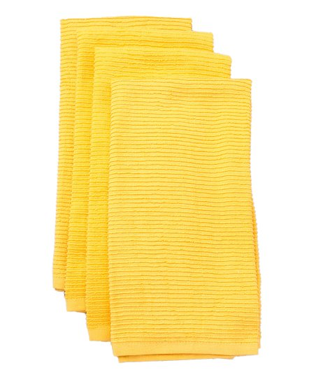Yolk Wave Kitchen Towel - Set of Four