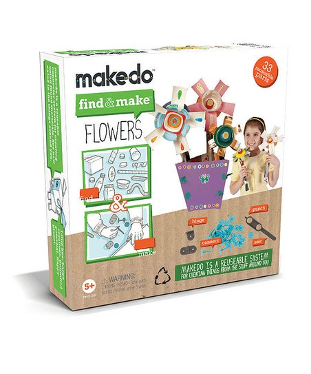 Find & Make Flowers Kit