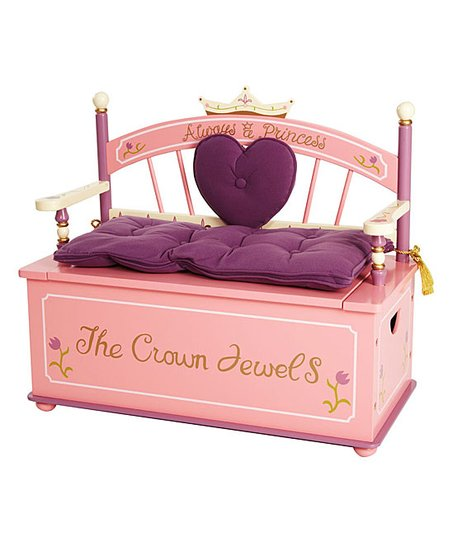 Princess Storage Bench
