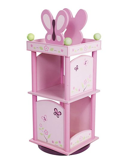 Sugarplum Revolving Bookcase