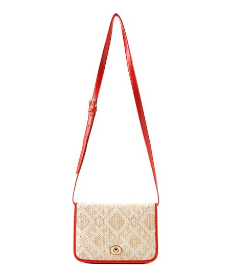 Coral Vivi Crossbody Bag