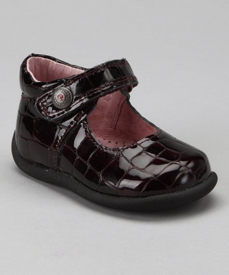 Burgundy Patent Mary Jane