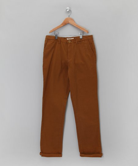 Canvas Chino Pants - Boys