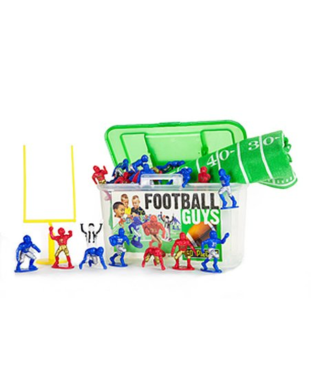 Football Guys Red Versus Blue Figure Set