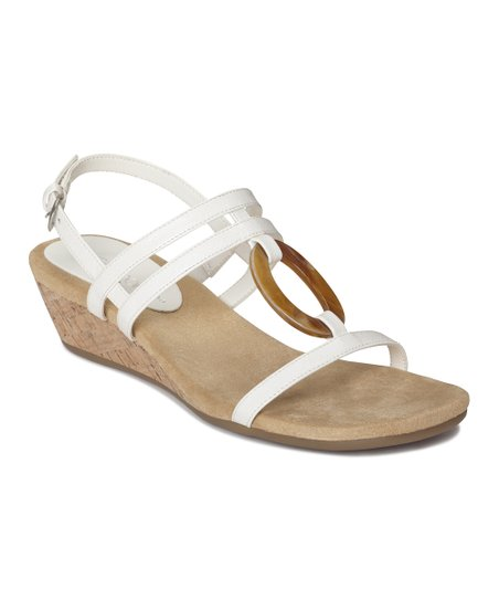 White Alphabyet Wedge