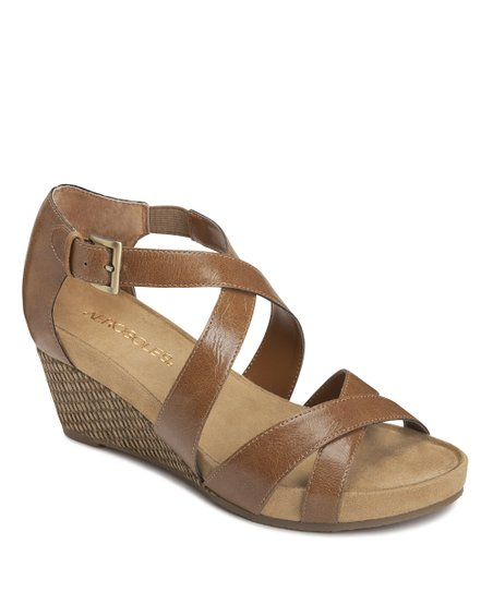 Dark Tan Enlighten Wedge
