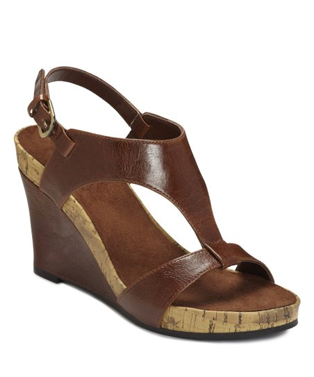 Mid Brown Plush Above Wedge