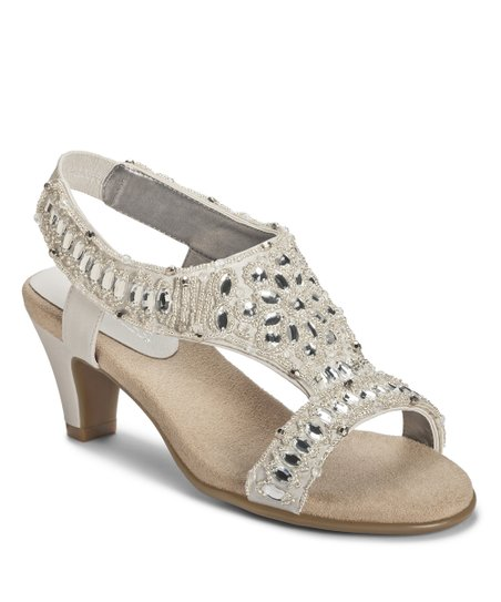 White Pearl Wild Fire Sandal