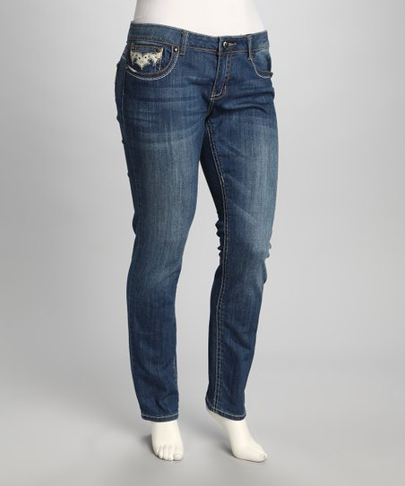 Blue Etta Plus-Size Jeans