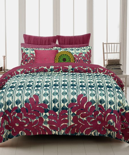 Tribal Garden Duvet Set