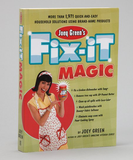 Joey Green's Fix-It Magic Paperback