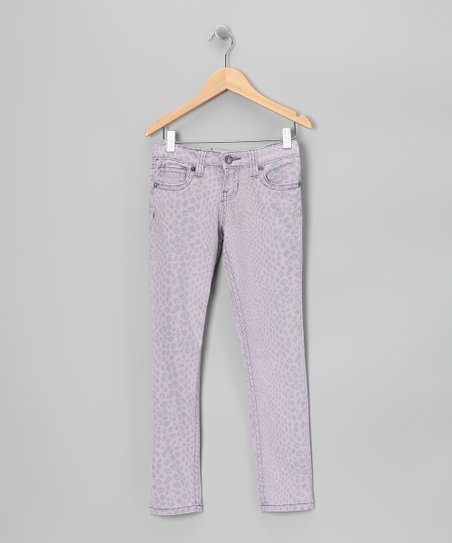 Lavender Freesia Pants - Girls