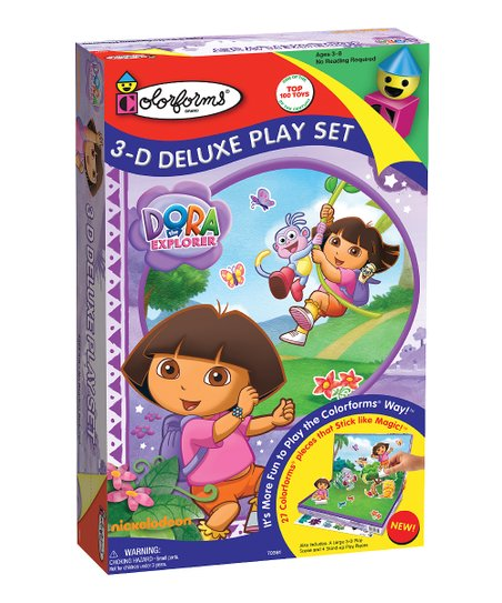 Dora the Explorer 3-D Deluxe Play Set