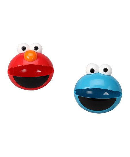 Elmo &amp; Cookie Monster Snack-O-Sphere Container Set