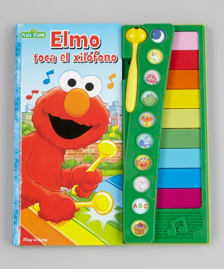 Elmo's Tappin' Tunes Xylophone Spanish Sound Board Book