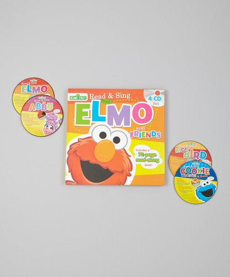 Read & Sing With Elmo & Friends Hardcover & CD Set