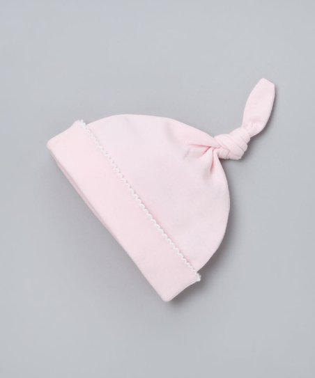 Light Pink Single-Knot Beanie