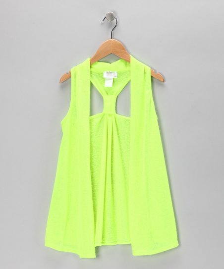 Lime Racerback Vest