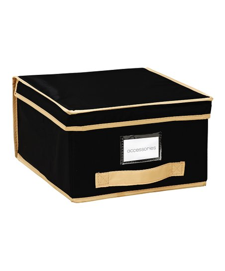 Black Medium Storage Box