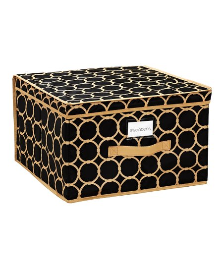 Black & Tan Hula Extra-Large Storage Box