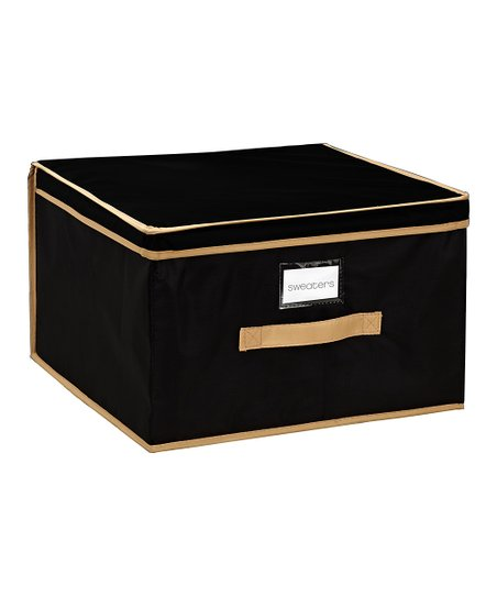 Black Extra-Large Storage Box