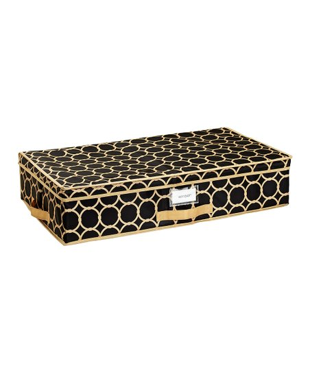 Black & Tan Hula Under-Bed Storage Box